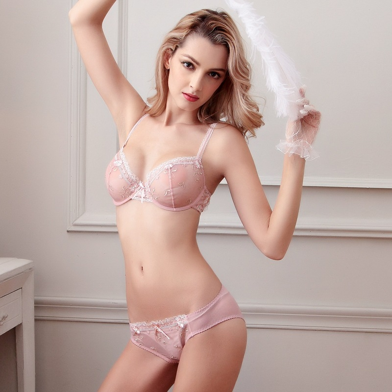 Set of bra and panty
